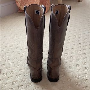 Frye Paige Riding boots worn once!